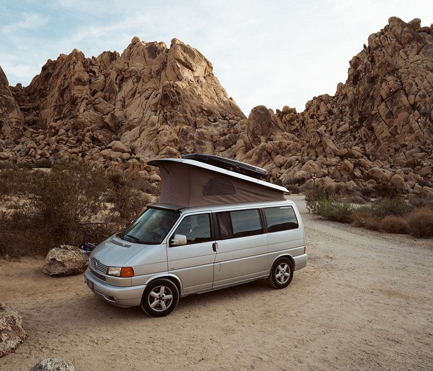 eurovan weekender camping image